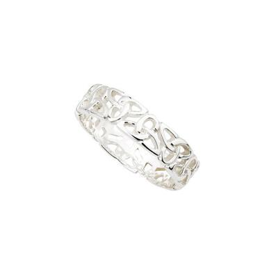 Sterlingsilber Trinity Knot Ring
