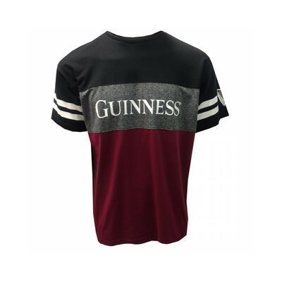 Guinness Black Burgundy T-Shirt Men