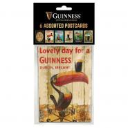 Guinness postcards, 6 pcs.