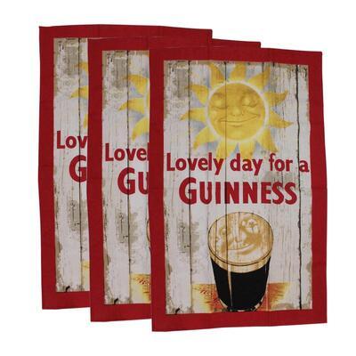 Guinness Küchenhandtuch Smiling Pint Set