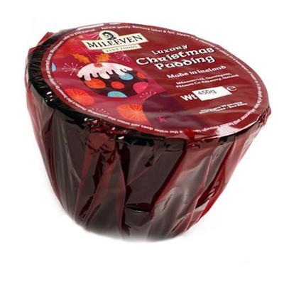 Plum Pudding according to traditional Recipe, 450 grams
