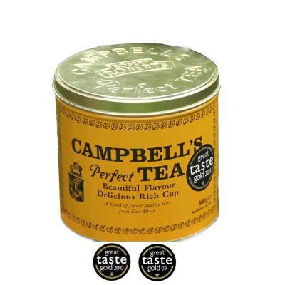 Campbells Tea in dekorativer, luftdichter 500 Gramm Dose
