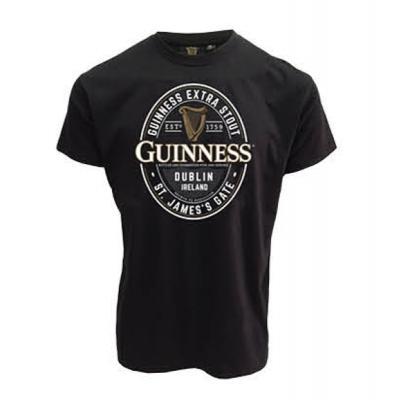 Guinness T Shirt - Guinness Label