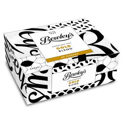 Bewleys Gold Blend Tea, 80 Beutel