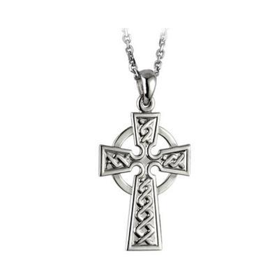 Pendant Celtic Cross Sterling Silver
