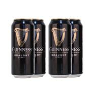 Draught Guinness Beer, 4 Tins