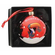 Guinness Christmas Decoration Ball, red