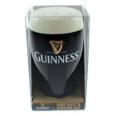 Guinness Salz- und Pfefferstreuer aus Keramik
